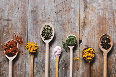 Spices in Spoon - Visual Filmworks Love Good Food - Product Photography Services Aurora